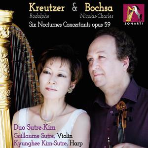 6 Nocturnes Concertants for Harp and Violin in A Minor, Op. 59: V. Allegro moderato - Allegro pas trop vite