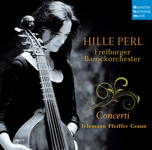 Concerto for Recorder and Viola da Gamba in A Minor, TWV 52:a1: I. Grave by Georg Philipp Telemann, Hille Perl