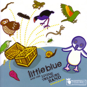 Little Blue and the Living Treasure Band