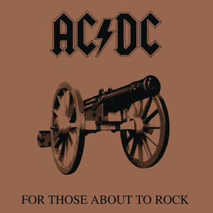 For Those About to Rock (We Salute You) cover art