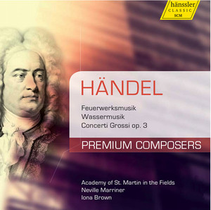 Water Music: Suite No. 3 in G Major, HWV 350: IV. Bourree I and II