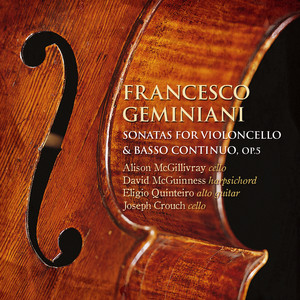 Geminiani: Sonatas for Violoncello & Basso Continuo