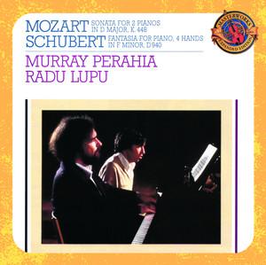 Sonata for 2 Pianos in D Major, K.448/375a: III. Allegro molto by Wolfgang Amadeus Mozart, Murray Perahia, Radu Lupu