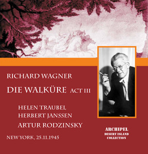 DIe Walküre Act 3 complete and Orchestral Ring excerpts conducted by Artur Rodzinsky