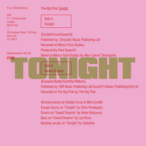 Tonight by The Big Pink