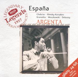 España - Rhapsody for Orchestra by Emmanuel Chabrier, London Symphony Orchestra, Ataúlfo Argenta