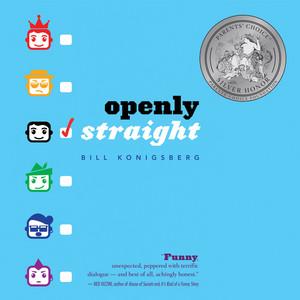 Openly Straight (Unabridged) Audiobook