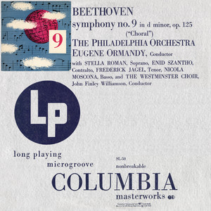 "Beethoven: Symphony No. 9 in D Minor, Op. 125 ""Choral"" (Remastered)"