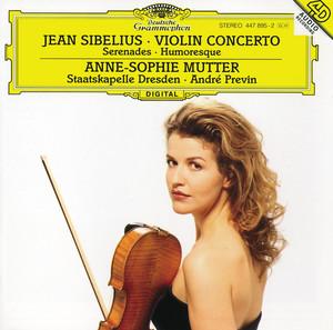 Two Serenades, Op.69: 2. Lento assai, Op.69 No.2 - In G Minor by Jean Sibelius, Anne-Sophie Mutter, Staatskapelle Dresden, André Previn