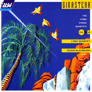String Quartet No. 2, Op.26: 5th movement: Furioso by Alberto Ginastera, Olivia Blackburn, Lyric Quartet