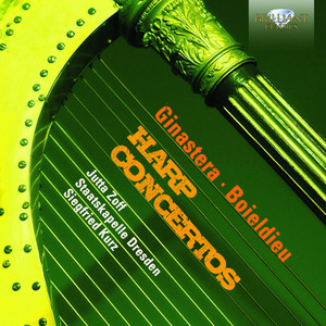 Concerto in C Major for Harp and Orchestra: 3. Rondeau. Allegro agitato by François-Adrien Boieldieu, Jutta Zoff, Staatskapelle Dresden, Siegfried Kurz