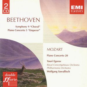 Piano Concerto No. 20 in D Minor, K.466: II. Romanze by Philharmonia Orchestra, Youri Egorov, Wolfgang Sawallisch