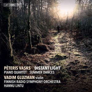 """Violin Concerto """"Distant Light"""": Andante I cover art"""