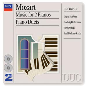 Sonata for 2 pianos in D, K.448: 1. Allegro con spirito by Wolfgang Amadeus Mozart, Ingrid Haebler, Ludwig Hoffmann