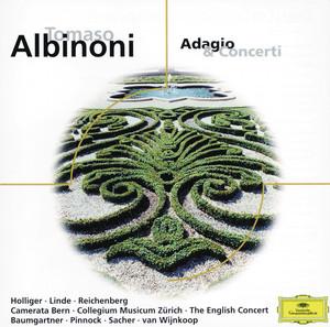 Concerto a 5 In D Minor, Op.9, No.2 For Oboe, Strings And Continuo: 2. Adagio by Tomaso Albinoni, David Reichenberg, The English Concert, Trevor Pinnock