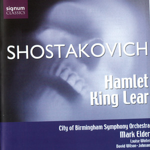 Hamlet Op. 32 - 1932 Production - Act I - i. Prelude and night patrol; ii. Sheph by City Of Birmingham Symphony Orchestra, Sir Mark Elder