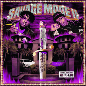 SAVAGE MODE II [CHOPPED NOT SLOPPED] album