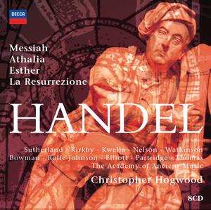 Hogwood conducts Handel Oratorios album