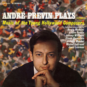 Andre Previn Plays Music of the Young Hollywood Composers album
