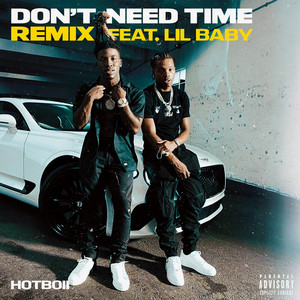 Don't Need Time  - Remix cover art