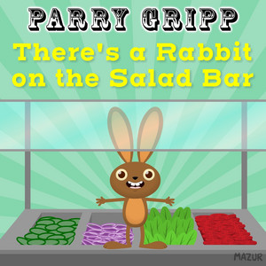 There's a Rabbit on the Salad Bar