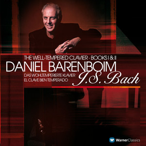 Bach, JS : Well-Tempered Clavier Book 2 : Prelude No.21 in B flat major BWV890 by Daniel Barenboim