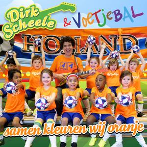 Samen Kleuren Wij Oranje by Dirk Scheele