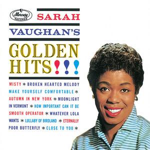 Sarah Vaughan's Golden Hits album