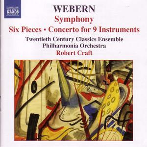 Symphony, Op. 21: I. Ruhig, schreitend by Anton Webern, Twentieth Century Classics Ensemble, Robert Craft
