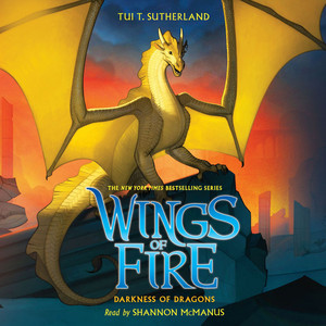 Darkness of Dragons - Wings of Fire 10 (Unabridged)