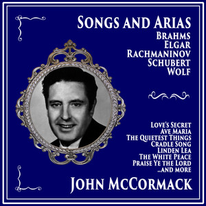 Songs and Arias by Brahms, Elgar, Rachmaninov, Schubert, Wolf, Vaughn Williams album