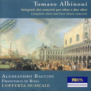 Oboe Concerto in B-Flat Major, Op. 9, No. 11: III. Allegro cover art