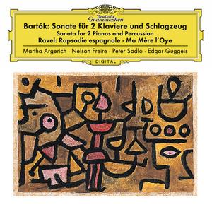 Sonata For 2 Pianos And Percussion, Sz. 110: 3. Allegro non troppo by Béla Bartók, Martha Argerich, Nelson Freire, Peter Sadlo, Edgar Guggeis