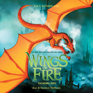 Escaping Peril - Wings of Fire 8 (Unabridged) Audiobook