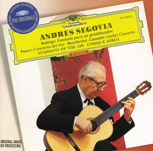 Cello and Orchestra Concerto No.6 in D Minor, G 479: 2. Andante cantabile by Luigi Boccherini, Andrés Segovia, Symphony Of The Air, Enrique Jorda