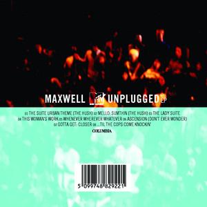 MAXWELL MTV UNPLUGGED