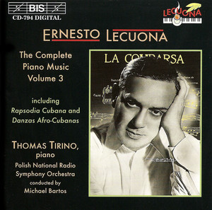 Rapsodia Cubana (on Cuban Airs) (arr. T. Tirino for piano and orchestra)