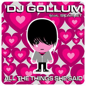 All The Things She Said - Manox Radio Edit cover art