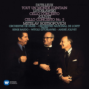 Dutilleux: Cello Concerto (Tout un monde lointain): I. Enigma [Très libre et flexible] by Henri Dutilleux, Mstislav Rostropovich, Serge Baudo, Orchestre de Paris