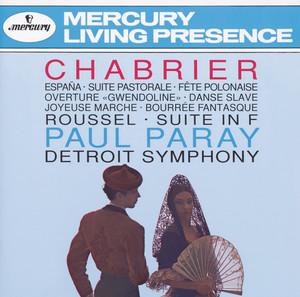 Chabrier: España; Suite pastorale; Fete Polonaise; Overture
