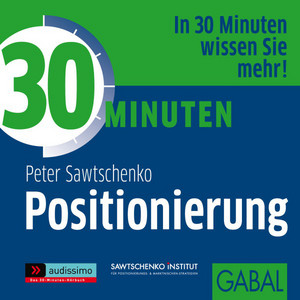 30 Minuten Positionierung Audiobook