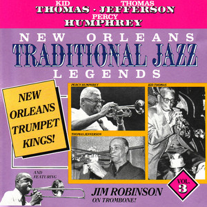 New Orleans Traditional Jazz Legends, Vol. 3 album
