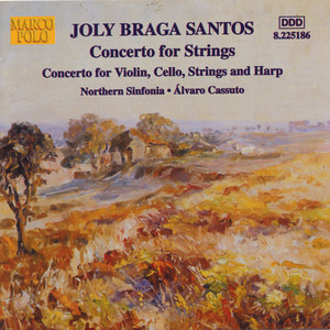 Duplo Concerto for Violin, Cello, Strings and Harp, Op. 42: III. Adagio by Joly Braga Santos, Sue Blair, Bradley Creswick, Alexander Somov, Royal Northern Sinfonia, Alvaro Cassuto