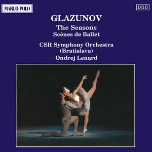 Vremena Goda (The Seasons), Op. 67: Winter: Snow by Alexander Glazunov, Slovak Radio Symphony Orchestra