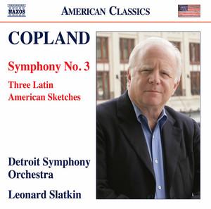 Symphony No. 3: IV. Molto deliberato (Freely, at First) by Aaron Copland, Detroit Symphony Orchestra, Leonard Slatkin