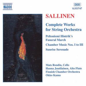 Sunrise Serenade, Op. 63 by Aulis Sallinen, Hanna Juutilainen, Mats Rondin, Finnish Chamber Orchestra, Okko Kamu