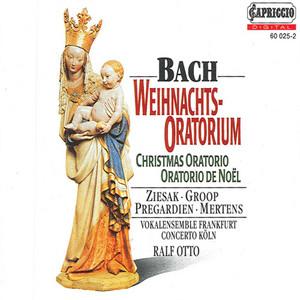 Christmas Oratorio, BWV 248: Part I: Aria: Bereite dich, Zion, mit zartlichen Trieben… (Alto) cover art