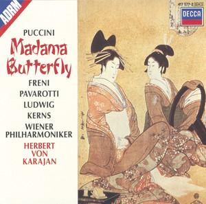 Madama Butterfly / Act 2: Coro a bocca chiusa (Humming Chorus) by Giacomo Puccini, Vienna State Opera Chorus, Wiener Philharmoniker, Herbert von Karajan