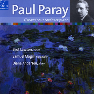Paul Paray - Works for strings and piano