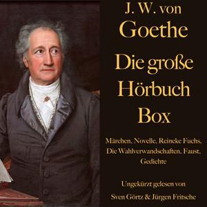 Johann Wolfgang von Goethe: Die große Hörbuch Box (Märchen, Novelle, Reineke Fuchs, Die Wahlverwandschaften, Faust, Gedichte) Audiobook